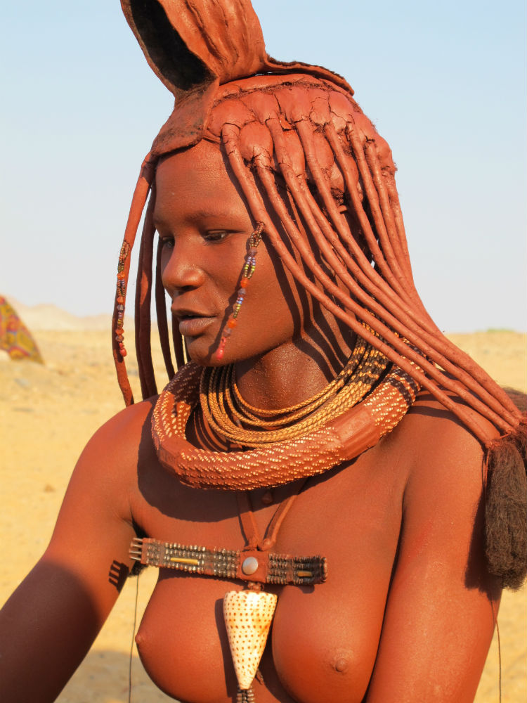 Himba young lady