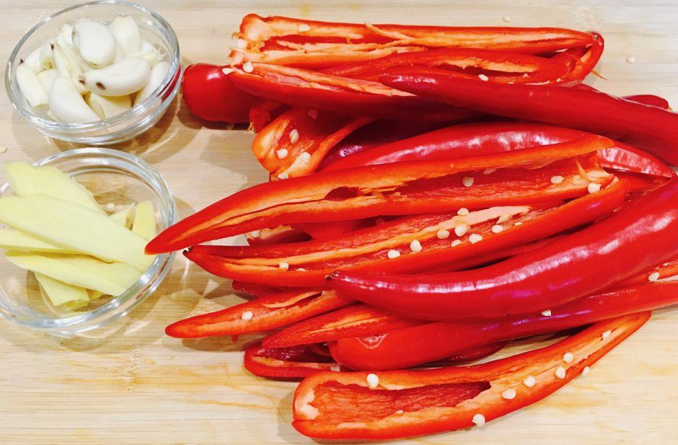 Sauce piment 1
